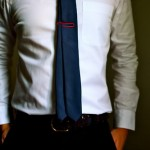 White Shirt With Dark Tie For A Job Interview