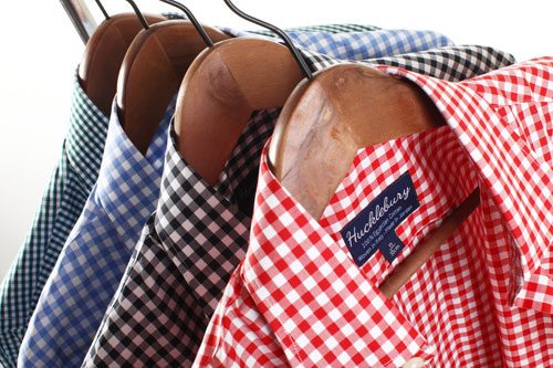 High Quality Hucklebury Shirts On Hangars