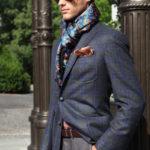 The Parisian Knot on a Suit