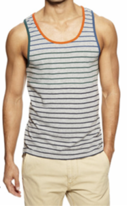 tank top for gym 186x300 Essential Shirts For The Wardrobe   V's, Tee's, and Henleys Oh My