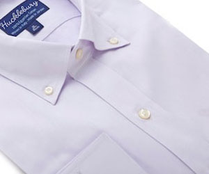 Conventional Shirt Placket On Presidential Purple By Hucklebury