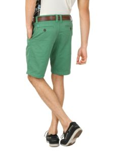 Vibrant Green Shorts That Fit Well