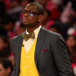 carlton-wade-in-a-bowtie-NBA-courtside