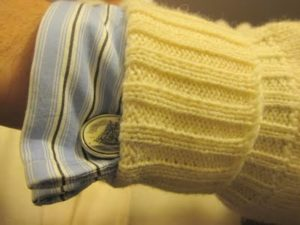 French Cuff With Sweater