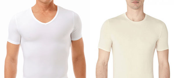 V-Neck and Crew Neck Undershirts