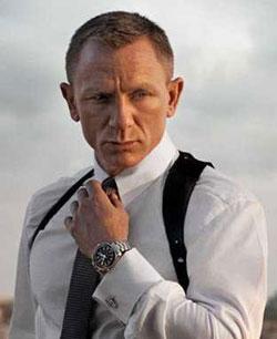James Bond - 007 - Wearing an Omega Watch