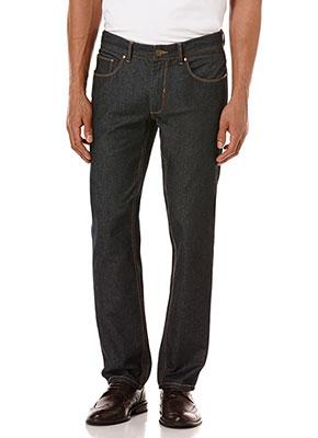 Perry-Ellis-Slim-Fit-Desize-Rinse-Dark-Indigo-Jeans-Cristiano-Ronaldo-Style-1