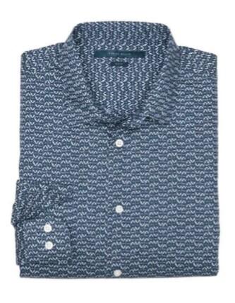 Perry-Ellis-Slim-Fit-Droplet-Print-Shirt-Cristiano-Ronaldo-Style