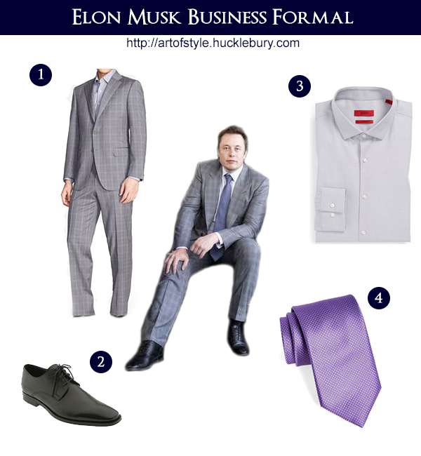 Elon Musk - Business Formal Style - Art of Style