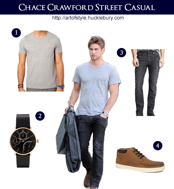Chace Crawford Street Casual Style Lookbook - Art of Style