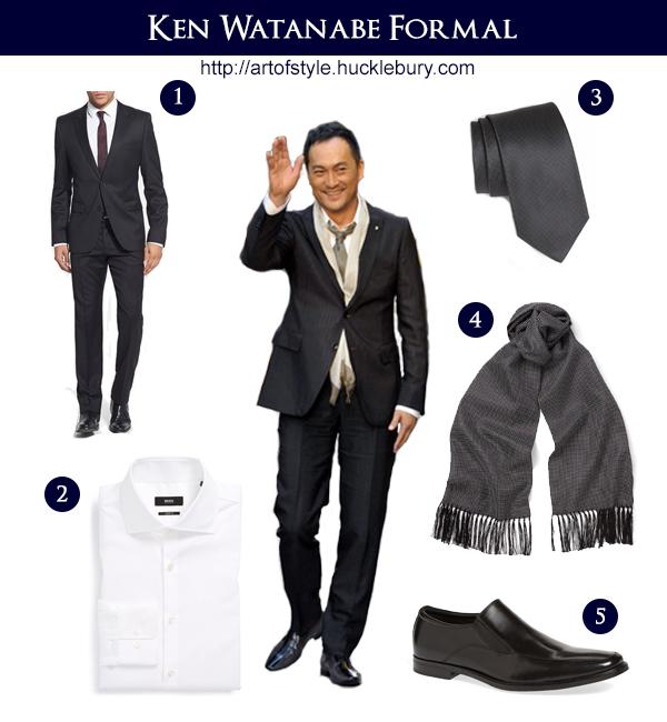 Ken Watanabe Formal Lookbook Style - Art of Style