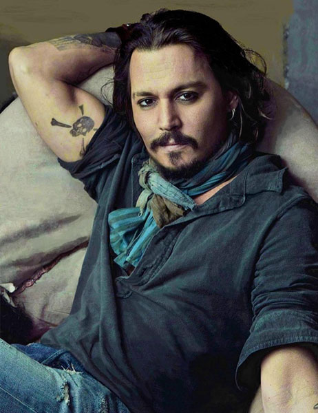 Johnny Depp Scarf - Style Upgrade - Art of Style