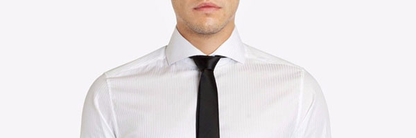 What do different types of collar styles mean art of for Wide spread collar shirt
