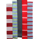 Horizontally Striped Tie Collection