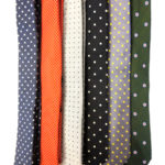 Polka Dot Slim Ties Selection