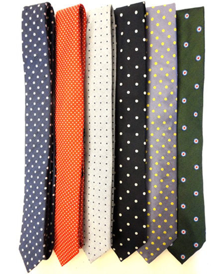 How to dress for a job interview art of style club diagonally striped tie selection polka dot slim ties selection ccuart Images