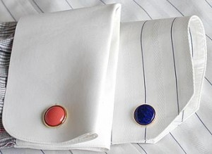 Cuff Links On French Cuff Shirts