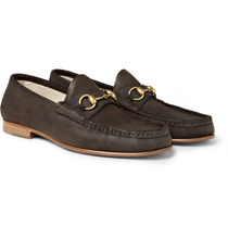 Classic Horsebit Loafers by Gucci