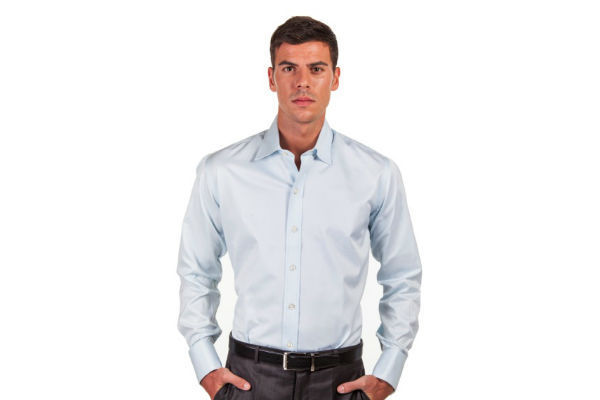 The Presidential Blue - Solid Blue Shirts by Hucklebury