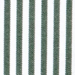 Pencil Stripes Pattern - Thomas Green And White by Hucklebury