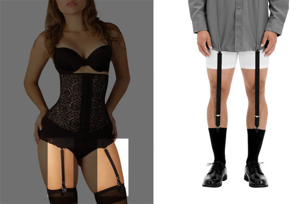 Shirt Stays and Garters