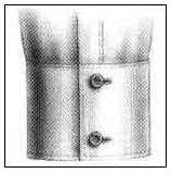 Double Button Barrel Cuff