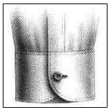 Single Button Barrel Cuff