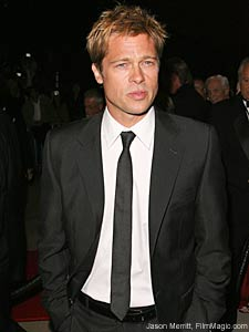 Skinny ties the low down art of style club brad pitt wearing a skinny tie ccuart Choice Image