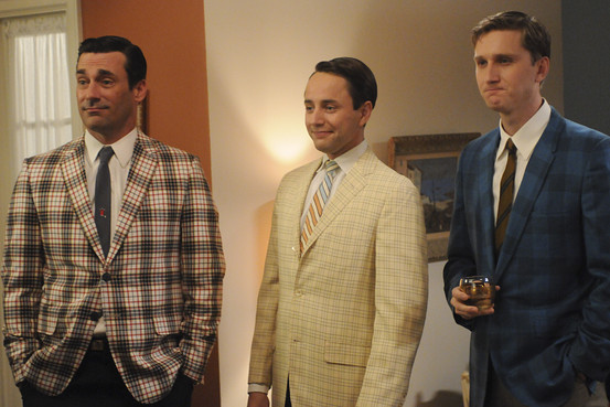 Plaid Jackets - Mad Men Cast - Tartan, Tatersall & Buffalo
