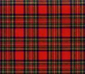 Yellow-Red Plaid Pattern
