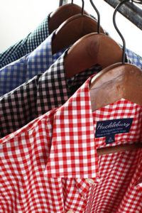 Taking Care of Dress Shirts - Hucklebury Shirts on Wooden Hangers - Art of Style