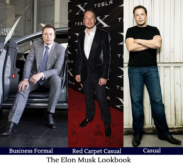 Elon Musk Lookbook - Art of Style - Hucklebury